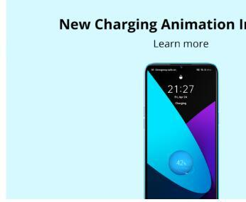 Realme UI新的充电动画即将在Realme智能手机上推出