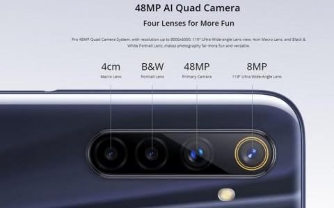 据报道称Realme 6i在印度首次亮相
