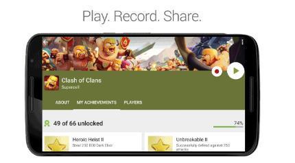 Google使捕获和分享您喜欢的游戏时刻变得前所未有的容易