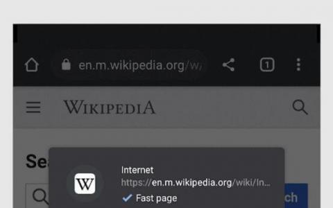 Android上的Chrome现在将标记快速页面