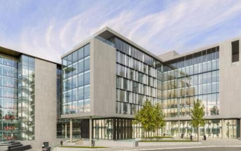绿色房地产投资信托基金在都柏林的中央公园开始建设