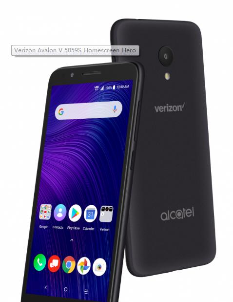 Verizon在周四宣布现在将提供其首款阿尔卡特智能手机AvalonV