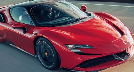 法拉利花了很多时间宣传其SF90Stradale插电式混合动力超级跑车