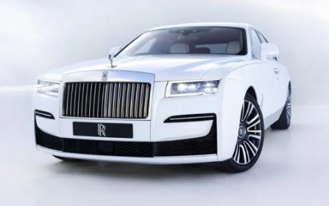 劳斯莱斯汽车公司已经撤回了2021年Ghost轿车的外观