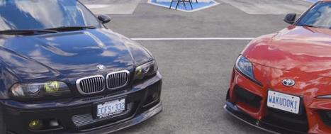 观看由丰田提供动力的BMWM3BattleA2020ToyotaSupra