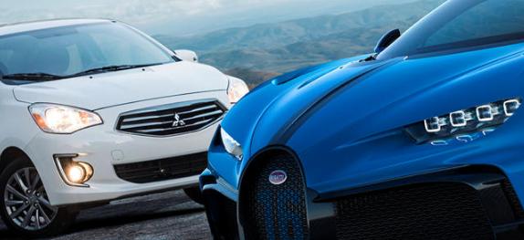售价低于20000美元的汽车比百万美元的超级跑车还多