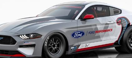 福特野马眼镜蛇喷气1400可以永远改变阻力赛车
