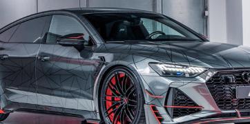 奥迪RS7-R展现出比兰博基尼Aventador更大的动力