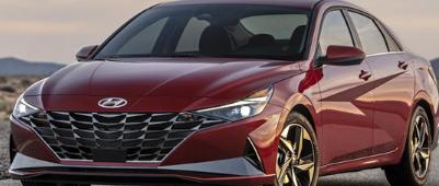 迎接全新的2021现代伊兰特炙手可热的新款紧凑型轿车