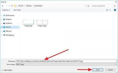 Microsoft Edge的新Web捕获工具