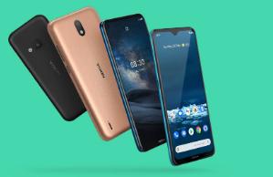 诺基亚推出三款手机包括全球友好的5G手机