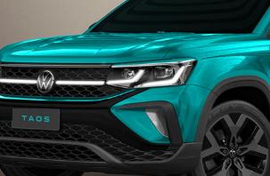最新的贴有大众汽车标志的SUV是Taos