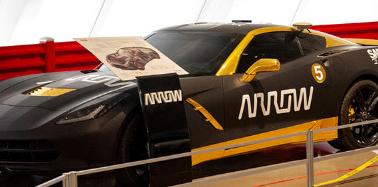 半自动汽车现已在肯塔基州鲍灵格林的国家克尔维特博物馆展出