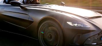 Speedster由5点2升双涡轮V12驱动产生700马力和555lb-ft扭矩
