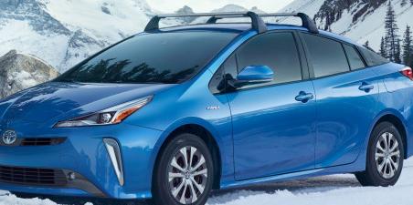 2019年丰田普锐斯增加了新的全轮驱动选项