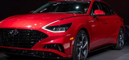 2020年现代索纳塔为中型轿车增添了戏剧性