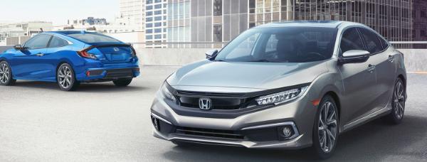 2019年本田思域的价格比去年的车型高出约500美元