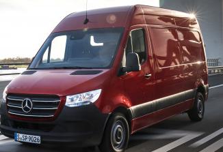 梅赛德斯-奔驰Sprinter的货车配置开始将花费34985美元