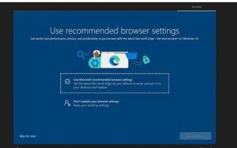 Microsoft最终将基于Chromium的Edge浏览器推向用户