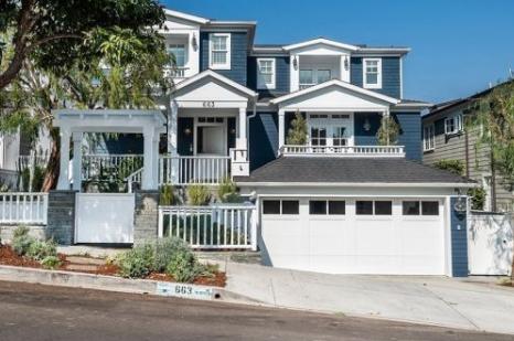 女演员佐伊黛丝香奈希望以595万美元的价格出售自己在加利福尼亚的房屋