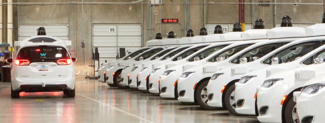 Waymo将在底特律制造自动驾驶汽车