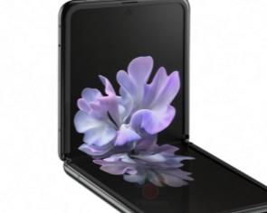 泄露的照片展示了三星GalaxyZFlip可折叠手机