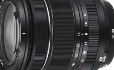富士胶片宣布推出XF16-80mm和GF50mm镜头