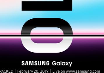 三星将于2月20日在旧金山发布一些Galaxy手机