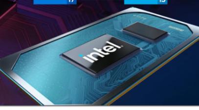 英特尔发布适用于游戏笔记本电脑的第11代Core H系列移动处理器