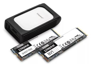 金士顿在CES 2021上宣布了即将推出的NVMe SSD路线图