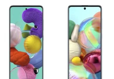 三星GALAXYA71智能手机推出带打孔显示屏四后置摄像头等