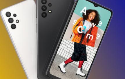 Galaxy A32作为三星最实惠的5G手机首次亮相