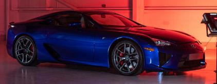 雷克萨斯LFA仅限于500个例子它是Lexus品牌的标志性产品