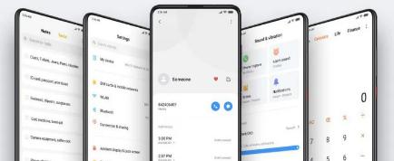 小米正在为其整个设备组合推进基于Android 10的MIUI11更新