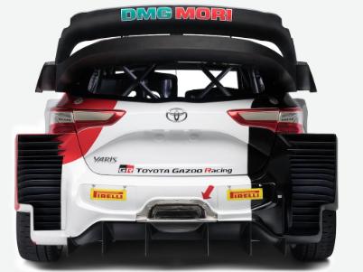 丰田发布带有新胎的2021年Yaris WRC赛车
