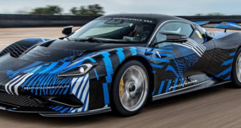 Pininfarina汽车公司推出了Battista概念车