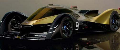 未来莲花ER9概念赛车揭晓