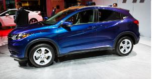 新款2021年本田HRV混合动力SUV曝光