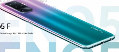 Oppo以全新设计取笑Reno5F智能手机