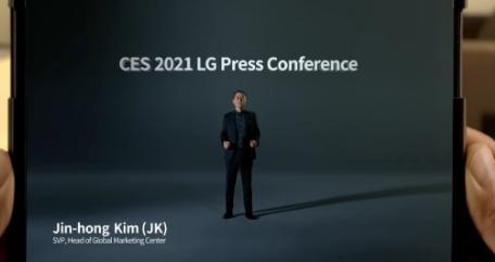 LG否认取消其可卷曲手机