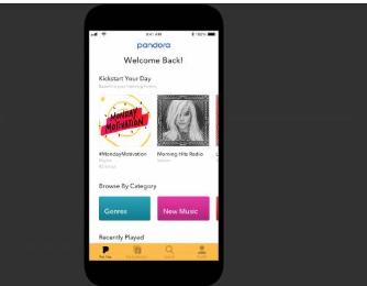 全新的Pandora移动体验为所有用户带来个性化功能