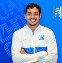 巴西籍球员吉列尔梅科斯塔马克斯成为广州城足球俱乐部首位新外援
