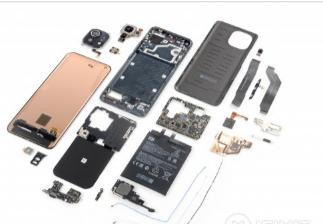 iFixit给小米Mi11智能手机平均可维修性评分