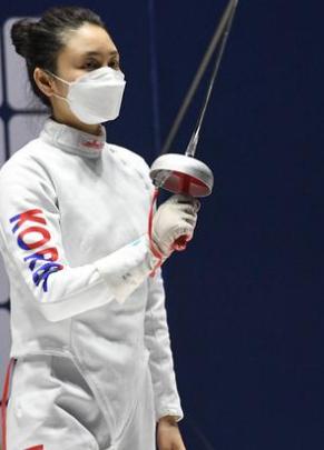 女子重剑个人赛孙一文最终排名第五