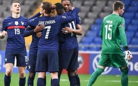 世预赛欧洲区继续进行中法国队迎来对阵哈萨克斯坦的比赛