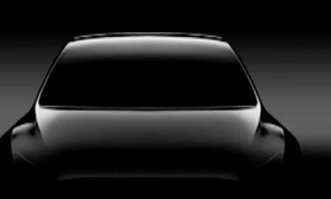 特斯拉展示了新车型的另一款预告片称为Y型车