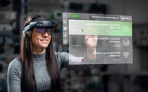 斯柯达向员工分发增强现实眼镜智能设备投影技术