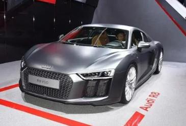 奥迪R8V10一直是这家德国汽车制造商最快的量产车型