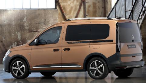 2022年大众CaddyPanAmericanaVanCrossover进入SUV领域