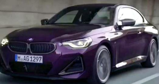 这是新的2022宝马2系双门轿跑车之前我们应该看到它吗